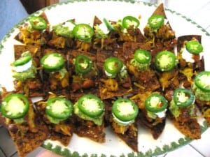 Perfect Game Day Healthy Nachos