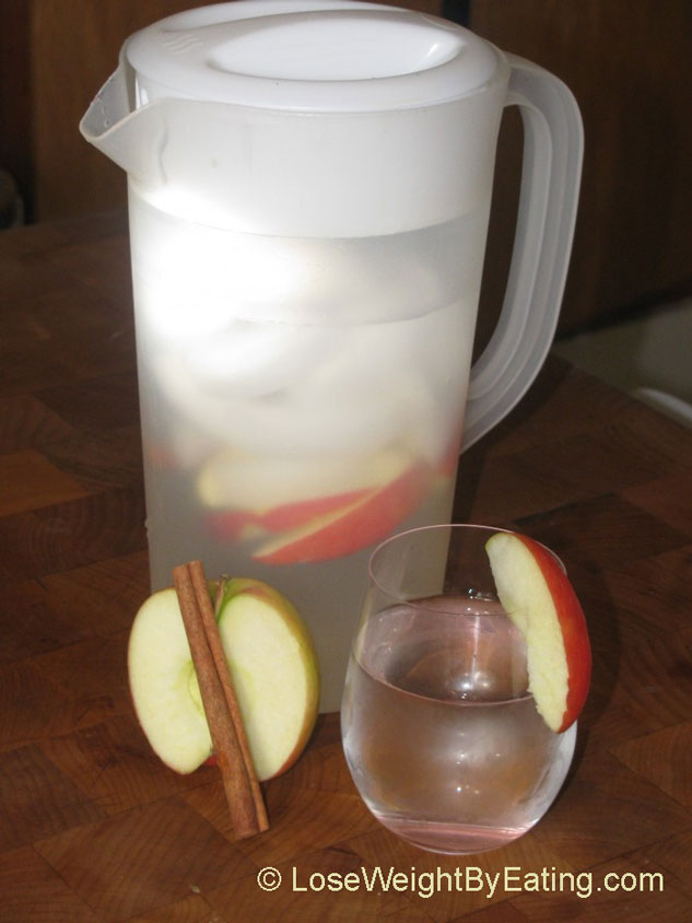 The Original Day Spa Apple Cinnamon Infused Water Recipe
