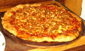 Healthy Homemade Sausage Pizza