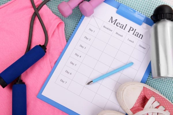weight loss meal plan simple