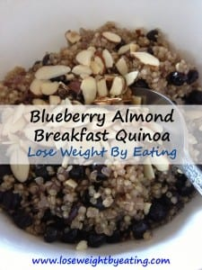 Blueberry Almond Breakfast Quinoa Recipe