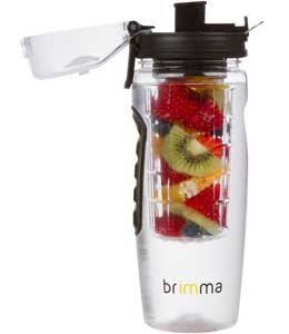 Brimma Leak Proof Fruit Infuser Water Bottle