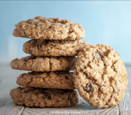 healthy Cookies with Oatmeal