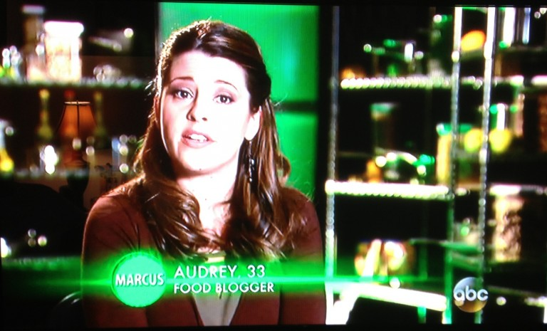 "Audrey Johns on ABC's ""The Taste"""