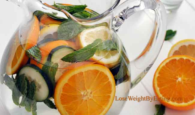 Detox Water: The Top 25 Recipes for Fast Weight Loss