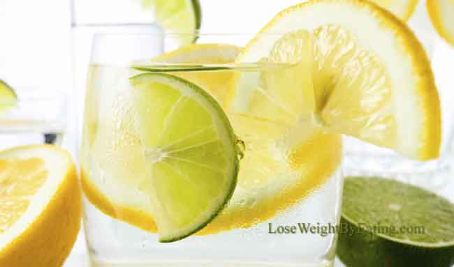 Lemon Lime Detox Water