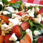 Anti Inflammatory Foods Strawberry Spinach Salad
