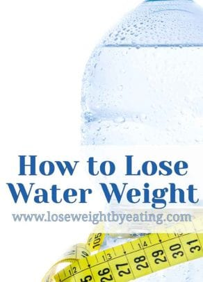 how to lose water weight in a week