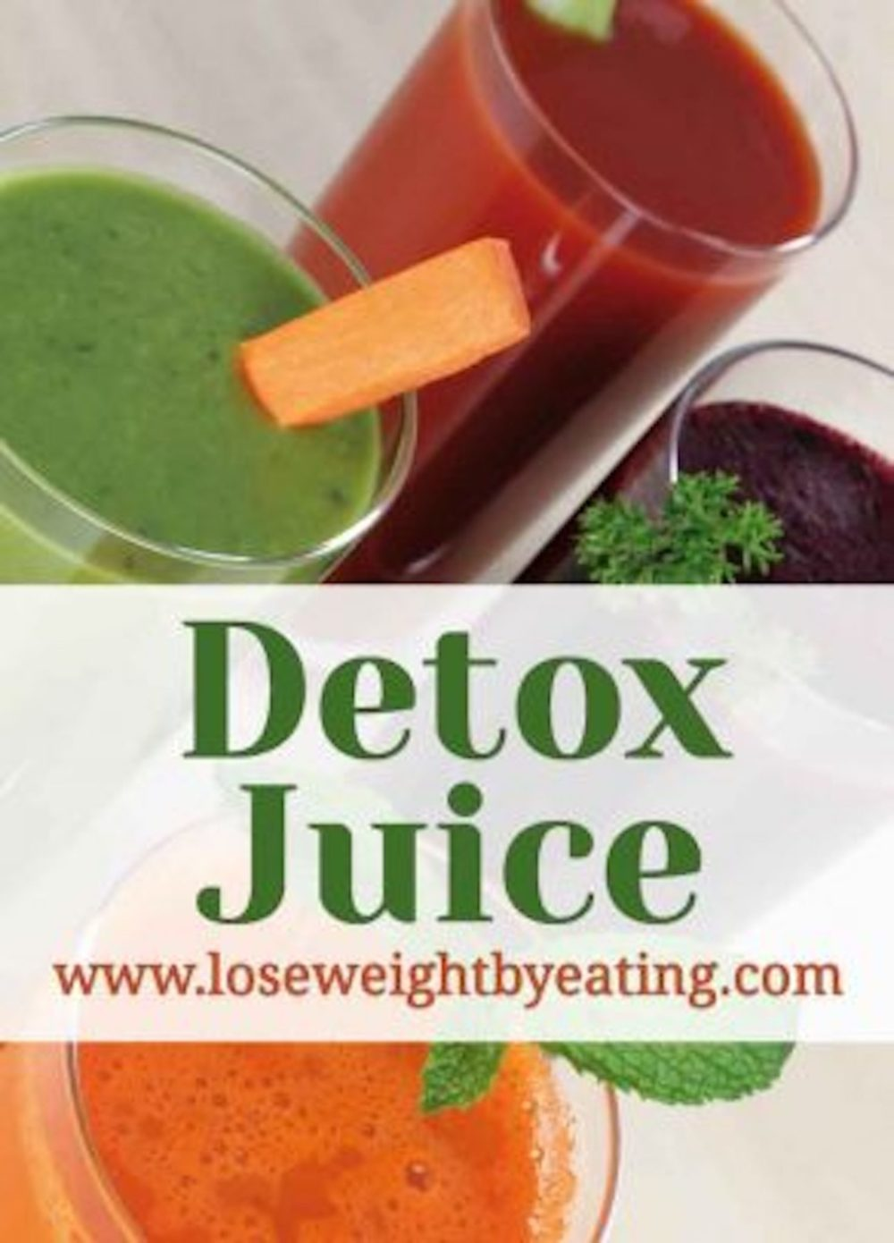 10 Detox Juice Recipes Weight Loss Cleanse Lose Weight