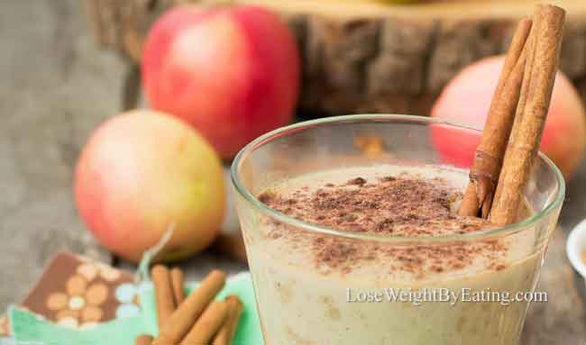 Cinnamon Apple Pie Detox Smoothie