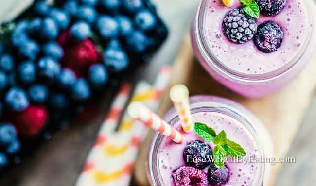 weight loss breakfast smoothies