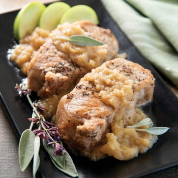 Instant Pot Cinnamon-Apple Pork Chops