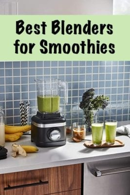 the best blenders for smoothies