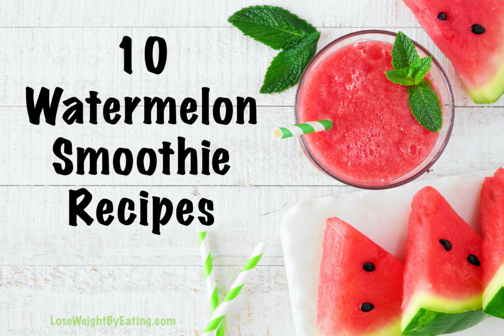 watermelon drinks and watermelon smoothie recipes