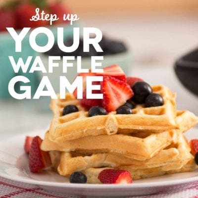 The Best Waffle Recipe | Healthy Recipe for Waffles
