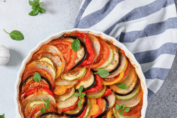 recipe for Ratatouille