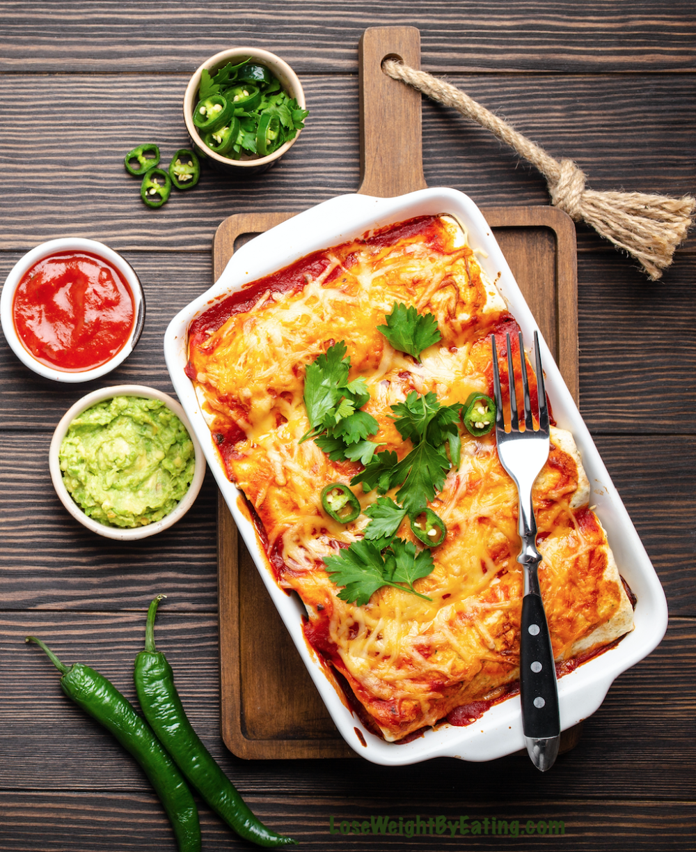 recipes for dinner Easy Chicken Enchiladas | Healthy Enchiladas