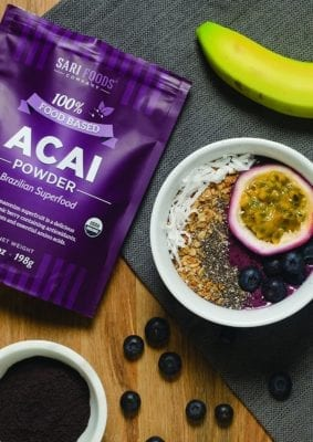 Low Calorie Acai Bowl Recipe Smoothie Bowl