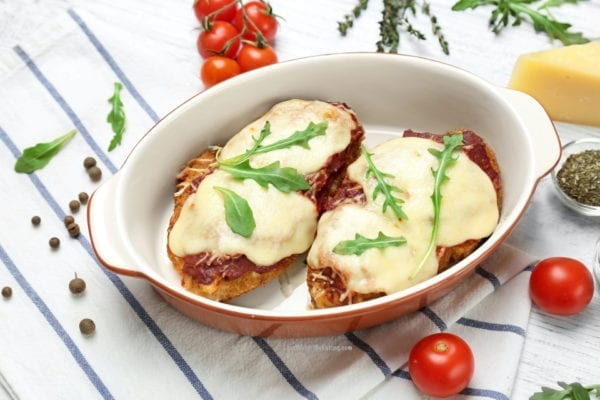 Healthy Baked Chicken Parmesan Recipe