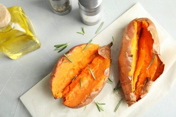 Recipe for Baked Sweet Potato in Oven