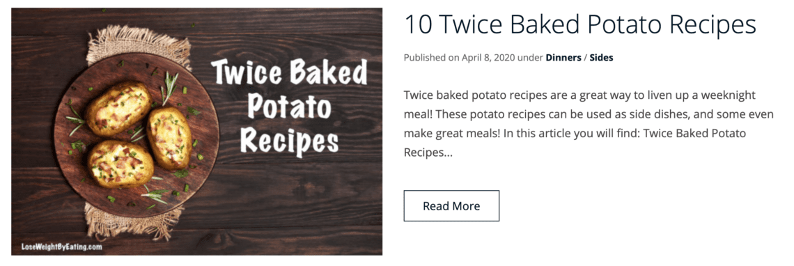 more recipes for the best baked potato recipe