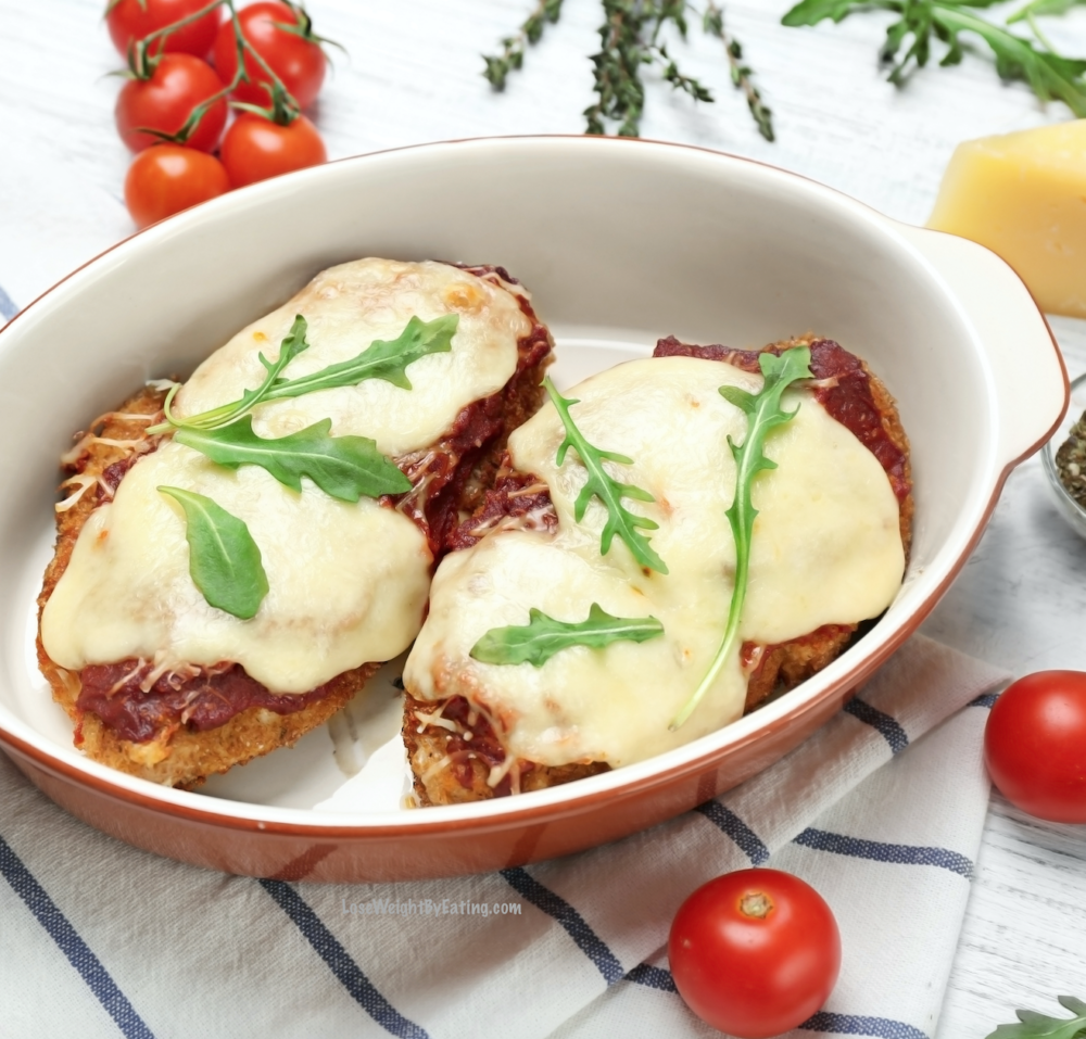 Recipes for Italian Food - Baked Chicken Parmesan