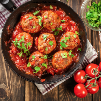 Low Calorie Turkey Meatball Crockpot Recipe