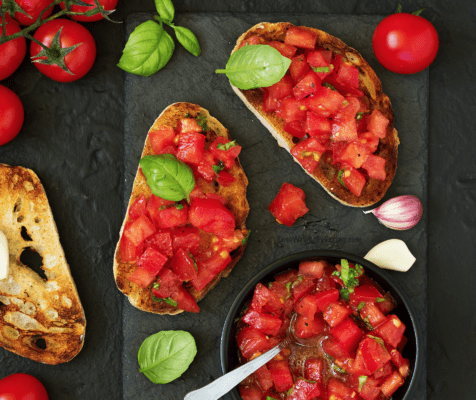 Healthy Bruschetta Recipe
