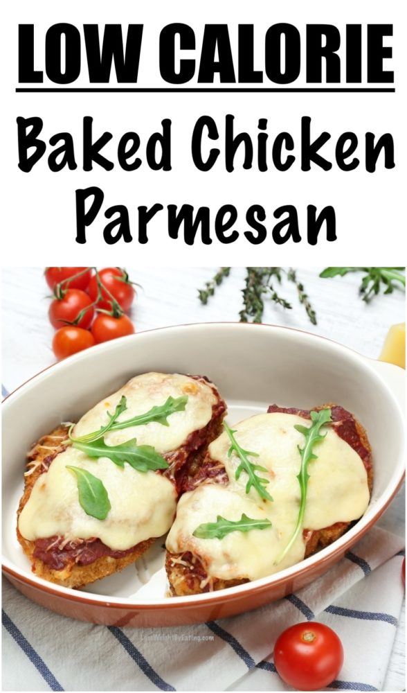 Low Calorie Baked Chicken Parmesan Recipe