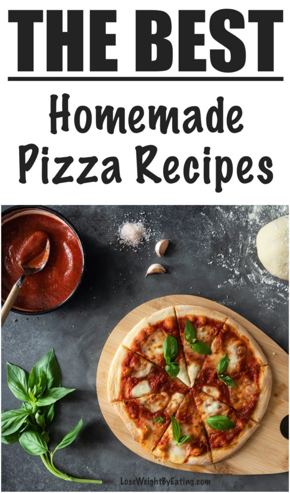 How to Make Pizza Healthy Dough and Sauce