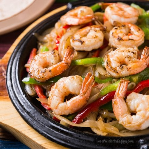 Shrimp Fajitas Recipes