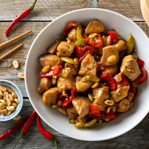 the best authentic kung pao chicken recipe