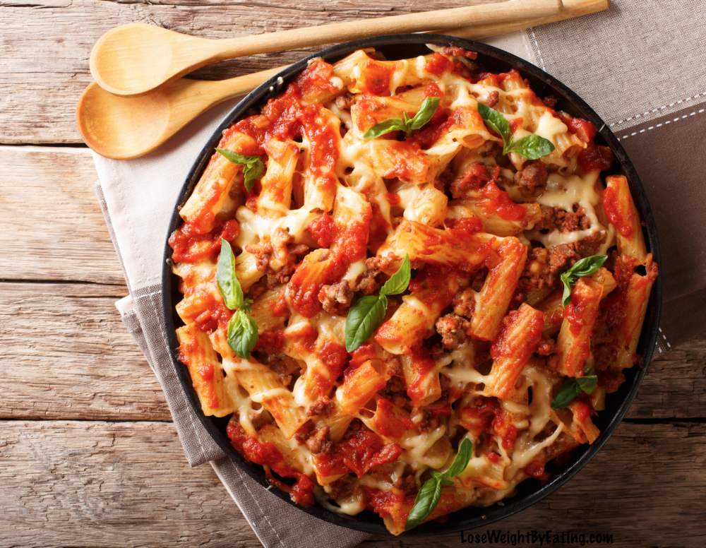 baked ziti recipe Easy Recipes for Dinner