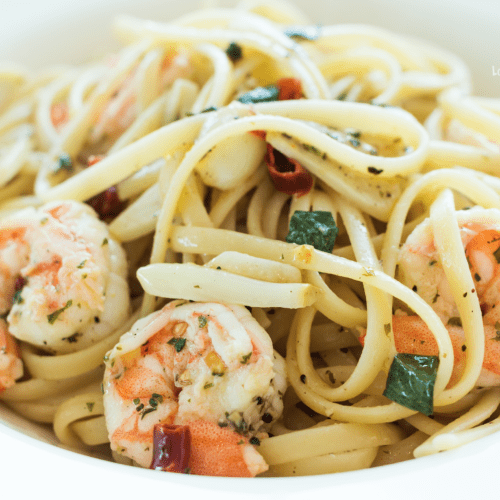 Recipe for Shrimp Scampi with Linguine