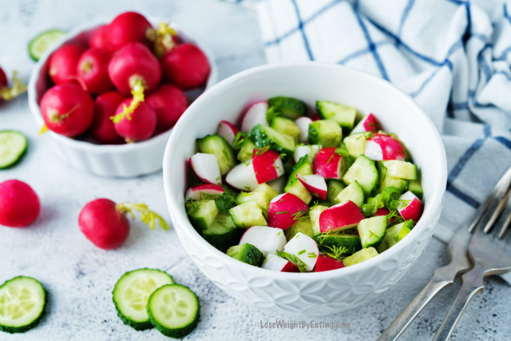Easy Recipe for Cucumber Salads