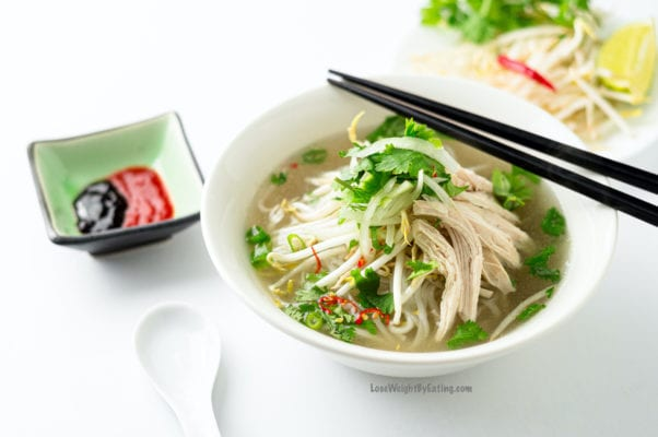 recipes for dinner chicken pho