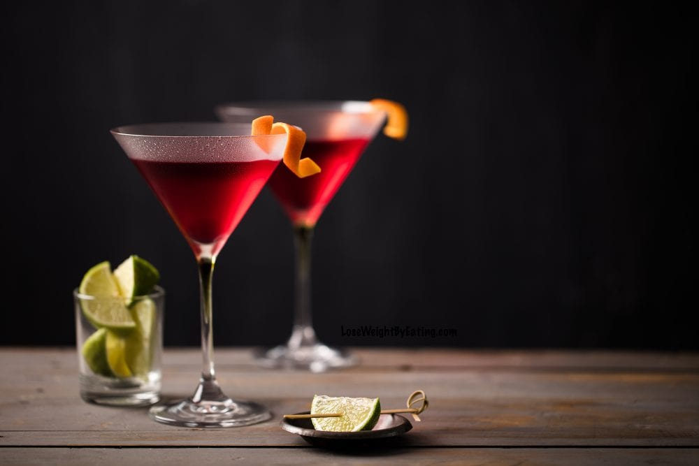 Cosmopolitan Drink Recipe Low Calorie Lose Weight By Eating