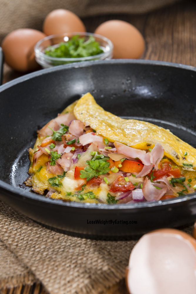 The Best Omelette Recipe {LOW CALORIE}