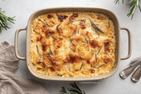 Low Calorie Recipe for Scalloped Potatoes