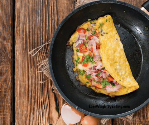 The Best Low Calorie Omelette Recipe
