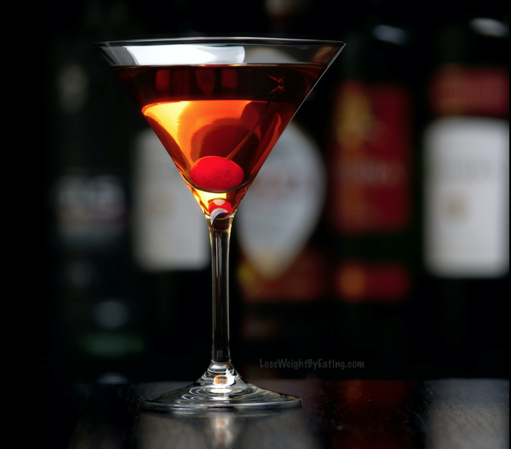 Low Calorie Recipe For Manhattan Drink Cocktails Lose Weight By Eating