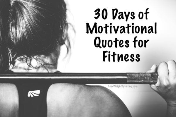 30 Days of Motivational Quotes for Fitness