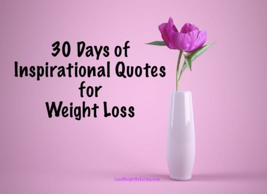 30 Days of Inspirational Quotes for Weight Loss