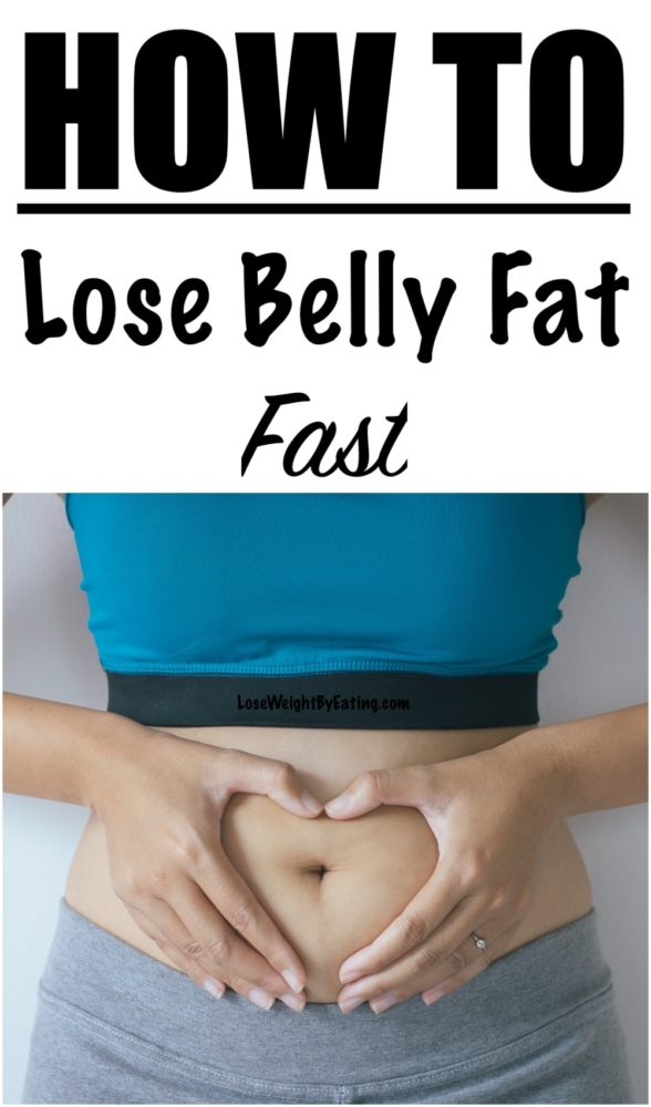 How To Lose Belly Fat Fast: 10 Tips For A Flat Stomach