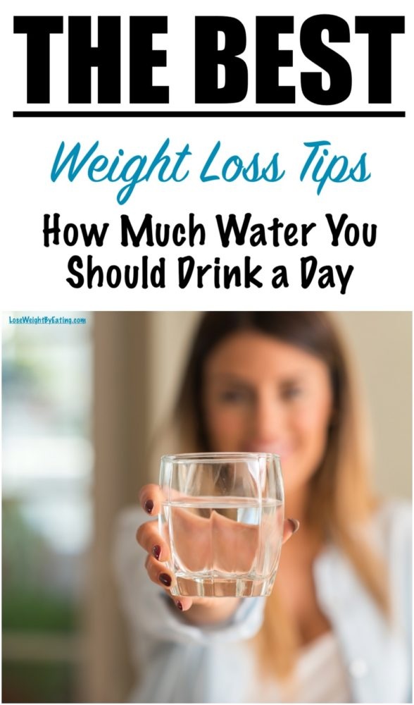 For Weight Loss How Much Water Should I Drink Daily?
