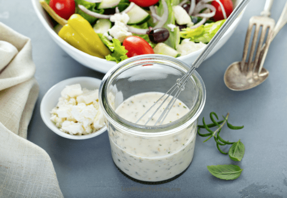 Easy Homemade Ranch Dressing Recipe