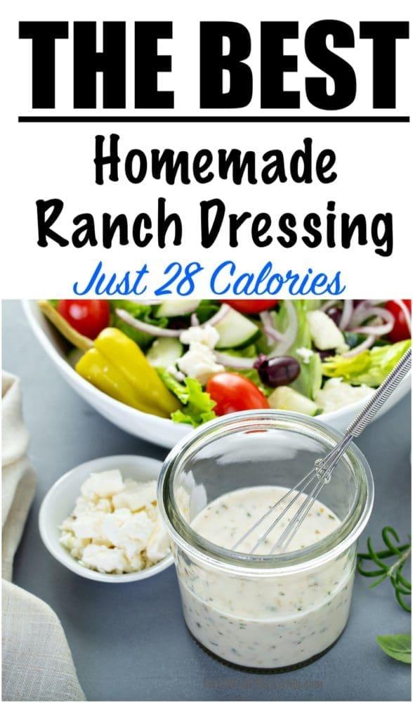Easy Homemade Ranch Dressing Recipe
