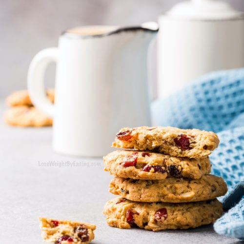 Healthy Cranberry Oatmeal Cookies Recipe