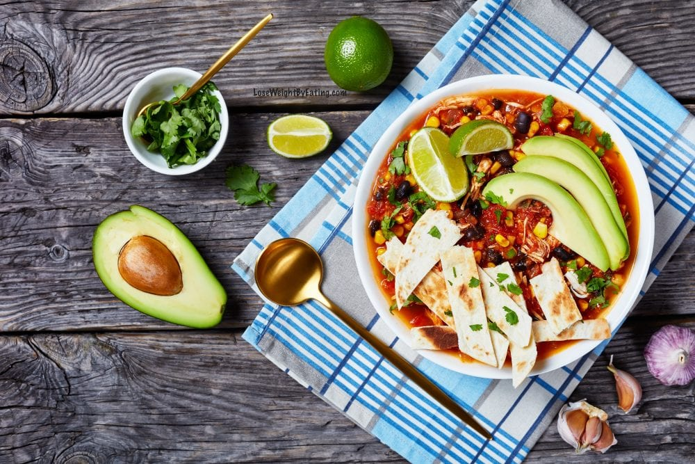 Easy Taco Soup Recipe with Black Beans