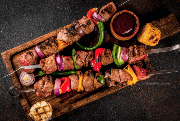 Marinated Steak Kabobs Recipe